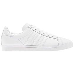 adidas coast star - blanc-blanc, cuir, cuir/textile
