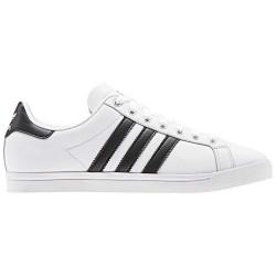 adidas coast star - blanc-noir, cuir, cuir/textile