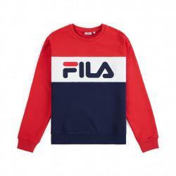 fila leah crew sweet - bleu, textile, textile