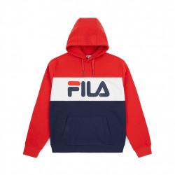 fila lori hoodie sweat - bleu, textile, textile