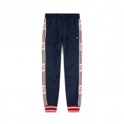fila lou track pant - bleu, textile, textile