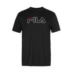 FILA - PAUL TEE - noir, textile, textile