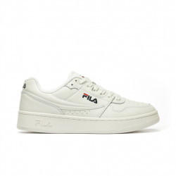 FILA - BASKETS ARCADE LOW 1010583 - OFFSHOES.FR - white, cuir, toile