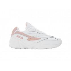 fila v94m low - blanc-rose, toile, toile