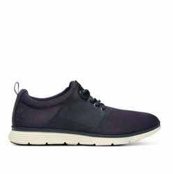 timberland killington leather and fabric oxford - bleu, cuir, cuir/textile