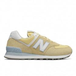 new balance wl574 esg - jaune, cuir/suede, cuir/textile