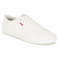 levis woods - blanc, cuir/synthetic, textile