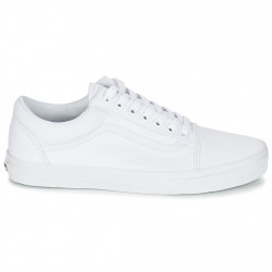 vans chaussures old skool - blanc, textile, textile