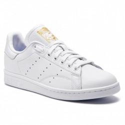 adidas chaussure stan smith - blanc-lavande, cuir, cuir/textile