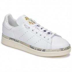 adidas chaussure stan smith - blanc-camouflage, cuir, cuir/textile
