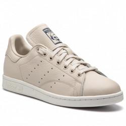 adidas chaussure stan smith - beige, cuir, cuir/textile