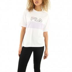 FILA - LEI TEE - blanc, textile, textile