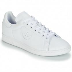 adidas chaussure stan smith - blanc-logo, cuir, cuir/textile