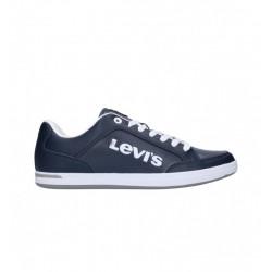 LEVI'S - AART NOVELTY - bleu, cuir/synthetic, textile