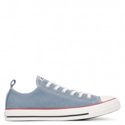 CONVERSE - CHUCK TAYLOR ALL STAR WASHED DENIM - bleu, syntetic/textile, textile
