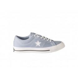 CONVERSE - ONE STAR - bleu, textile, textile