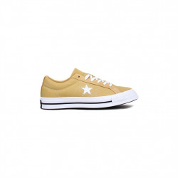 CONVERSE - ONE STAR - jaune-moutarde, textile, textile
