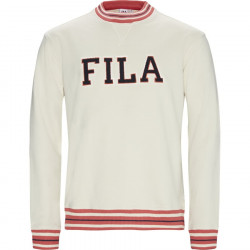 FILA - CAL CREW SWEAT - blanc, textile, textile