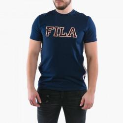 FILA - HANK TEE SS - bleu, textile, textile