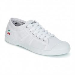 LE TEMPS DES CERISES - BASIC 02 - blanc, coton., coton.