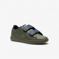 LACOSTE - CARNABY EVO ENFANT - kaki, synthetic, syntetic/textile