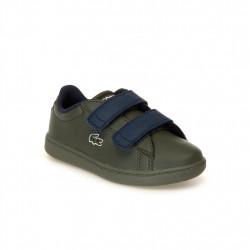 LACOSTE - LACOSTE CARNABY ENFANT - kaki, synthetic, syntetic/textile