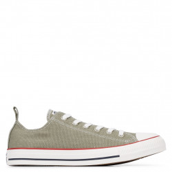 CONVERSE - All Star Washed Denim - kaki, syntetic/textile, textile