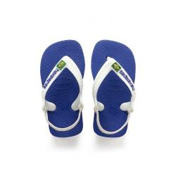 havaianas bébé brasil logo - royal-blue, caoutchouc, caoutchouc