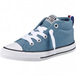 converse street mid - bleu, syntetic/textile, textile