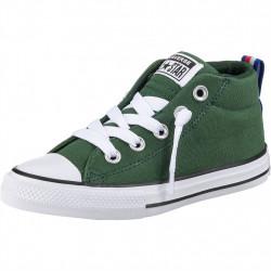 converse street mid - vert, syntetic/textile, textile