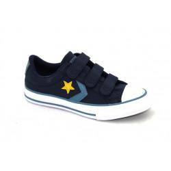 Converse - Starplayer a scratch - bleu, syntetic/textile, textile