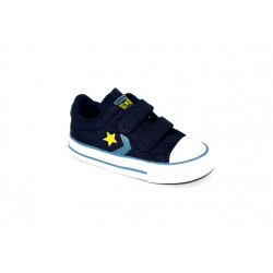 Converse - Starplayer a scratch - bleu, syntetic/textile, textile