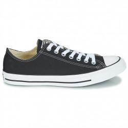 converse chuck taylor - black, toile, tissu