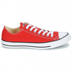 converse chuck taylor - rouge, toile, tissu
