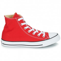 converse chuck taylor all star - rouge, toile, tissu