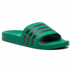 ADIDAS - CLAQUETTE ADILETTE - vert, synthetic, syntetic.