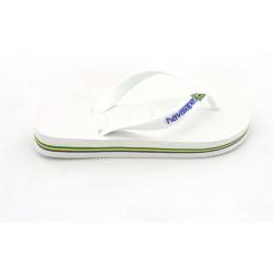 havaianas baby brasil logo - white, caoutchouc, caoutchouc