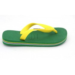 havaianas baby brasil logo - green, caoutchouc, caoutchouc