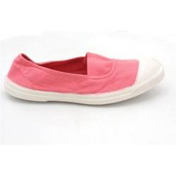 bensimon elastique - rose, toile, tissu