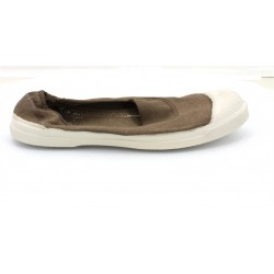 bensimon elastique - dark-beige, toile, tissu