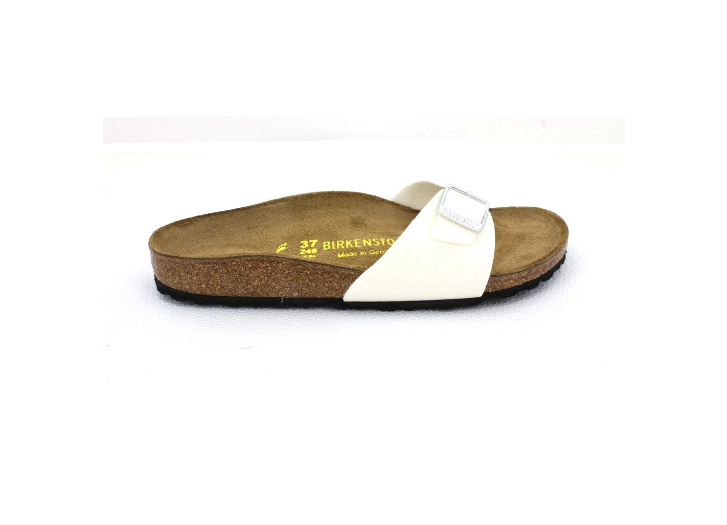 BIRKENSTOCK MULES MADRID FEMME BIRKO-FLOR® - MAGIC-WEISS----- CHAUSSURES ADULTES