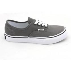 vans chaussure authentic enfant - pewter, toile, tissu