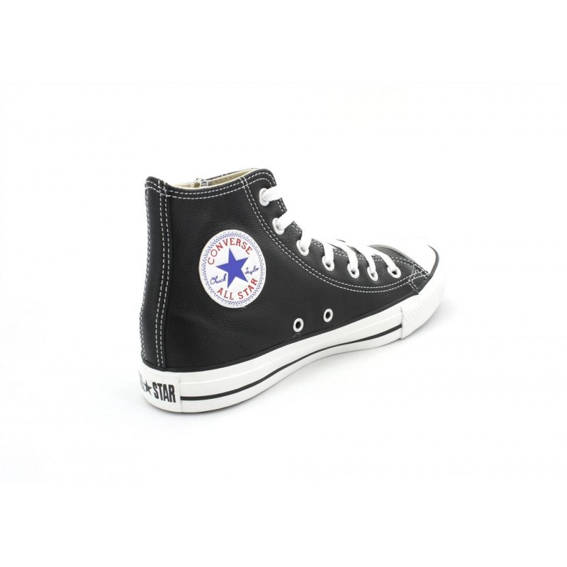 Star tessuto All pelle Taylor Nuovo in in 38 nera Chuck 132170c Converse pelle wtv644