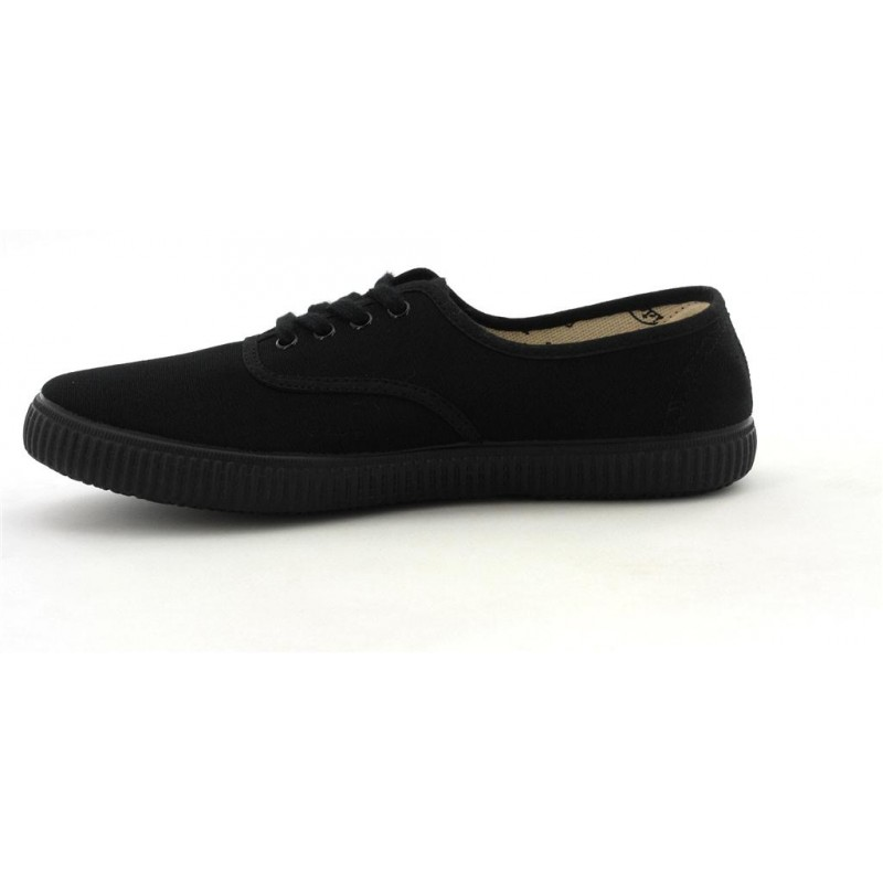 Toile Chaussures Black Tennis Tissu Victoria 40 Victoria 6610 Adultes wExIP0qf7