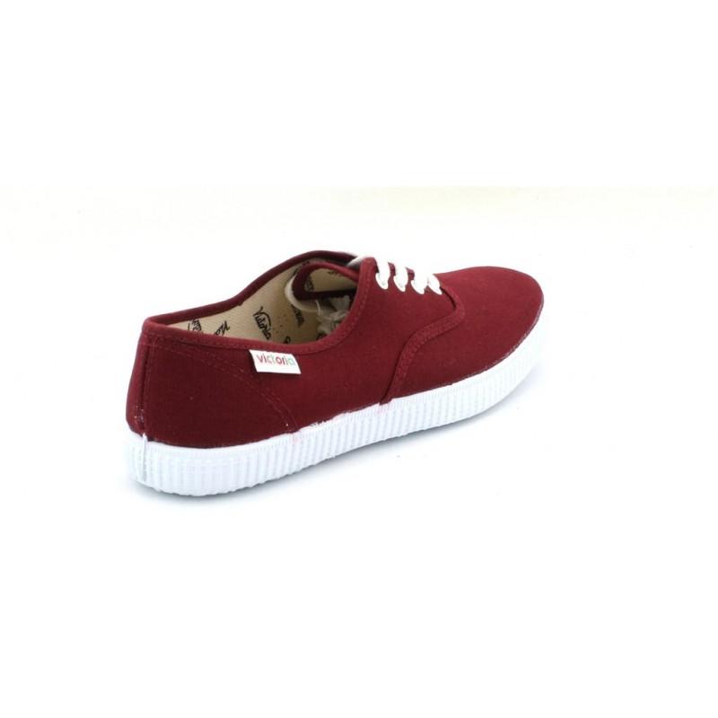 Victoria Tennis Chaussures Toile 37 Tissu Adu 6613 Burdeos Victoria S6wzrxqSB