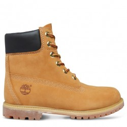 timberland® icon 6-inch premium boot femme 10361 - wheat, cuir, cuir
