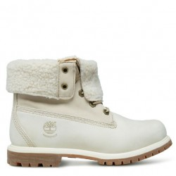 timberland authentics waterproof femme-8331r - blanc, cuir, tissu