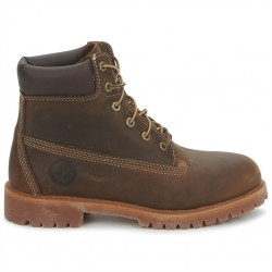 timberland 6 in wp boot - marron, cuir, cuir