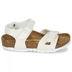 birkenstock rio birko-flor® - magic-white, synthétique, liege
